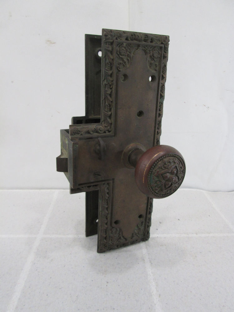 parts of a door knob set photo - 18