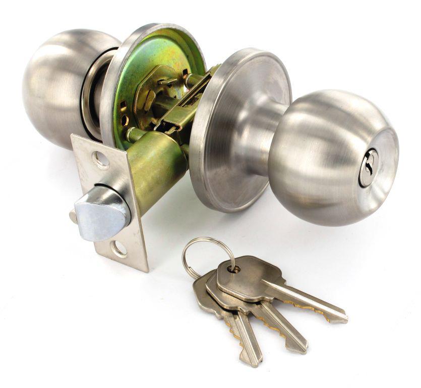 passage door knob sets photo - 2