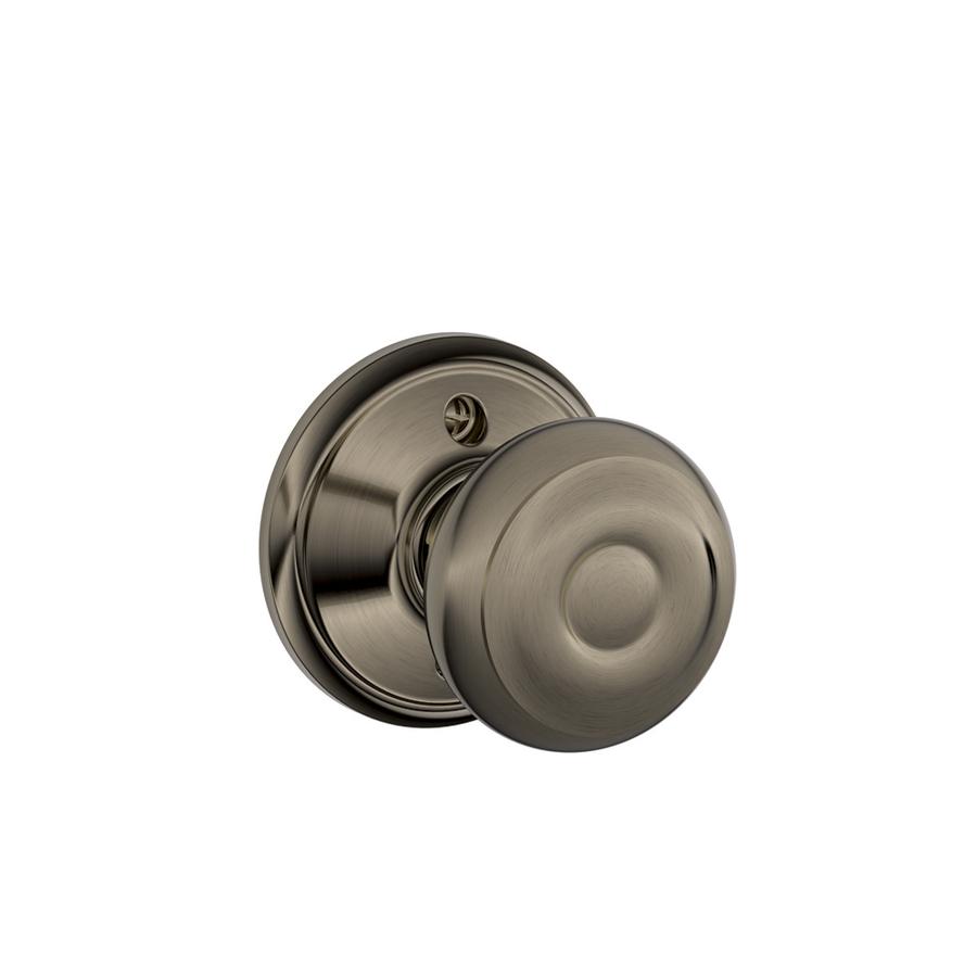 pewter door knob photo - 6