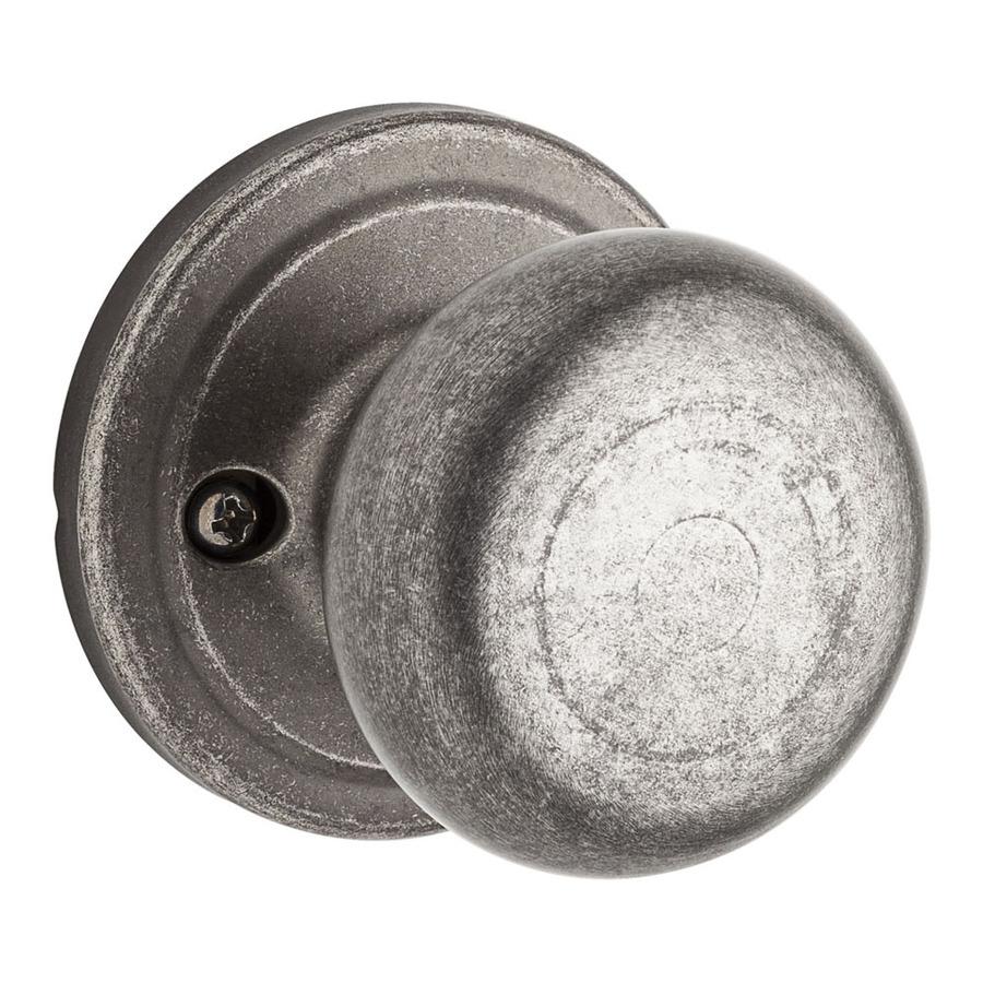 pewter door knob photo - 7