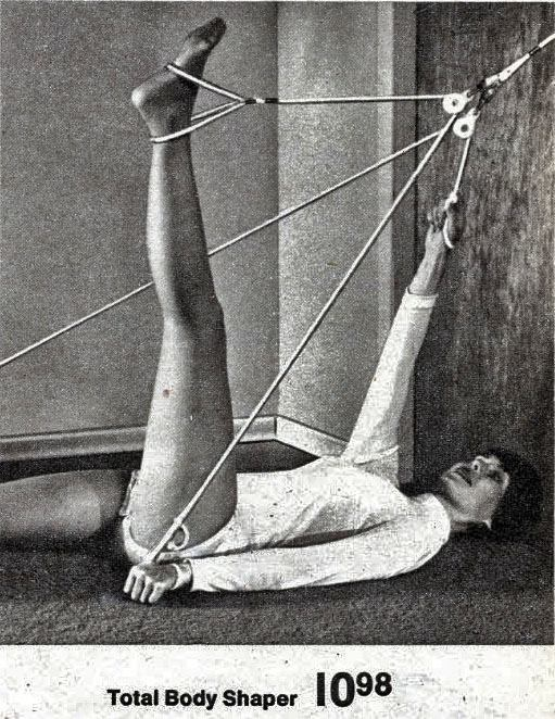 pilates door knob rope exerciser photo - 12