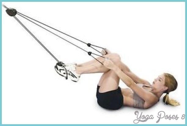 pilates door knob rope exerciser photo - 5
