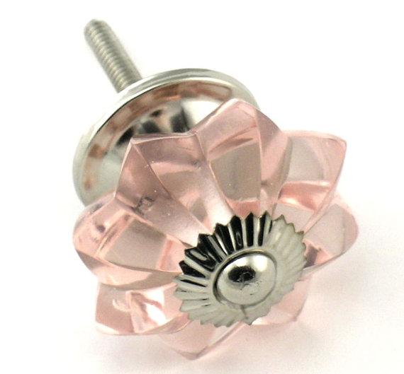 pink crystal door knobs photo - 19