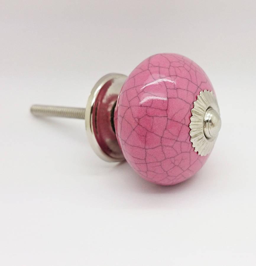 pink door knob photo - 18