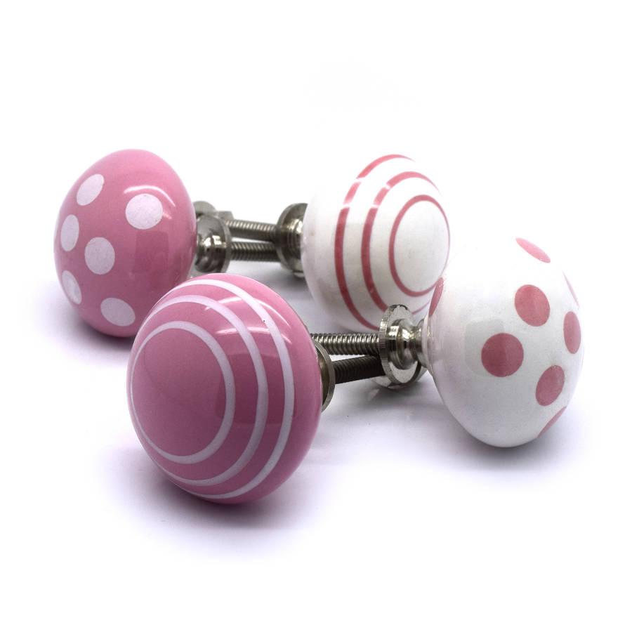 pink door knobs photo - 12