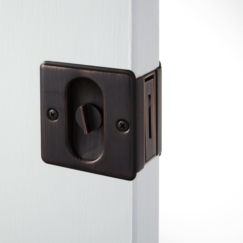 pocket door knob photo - 15