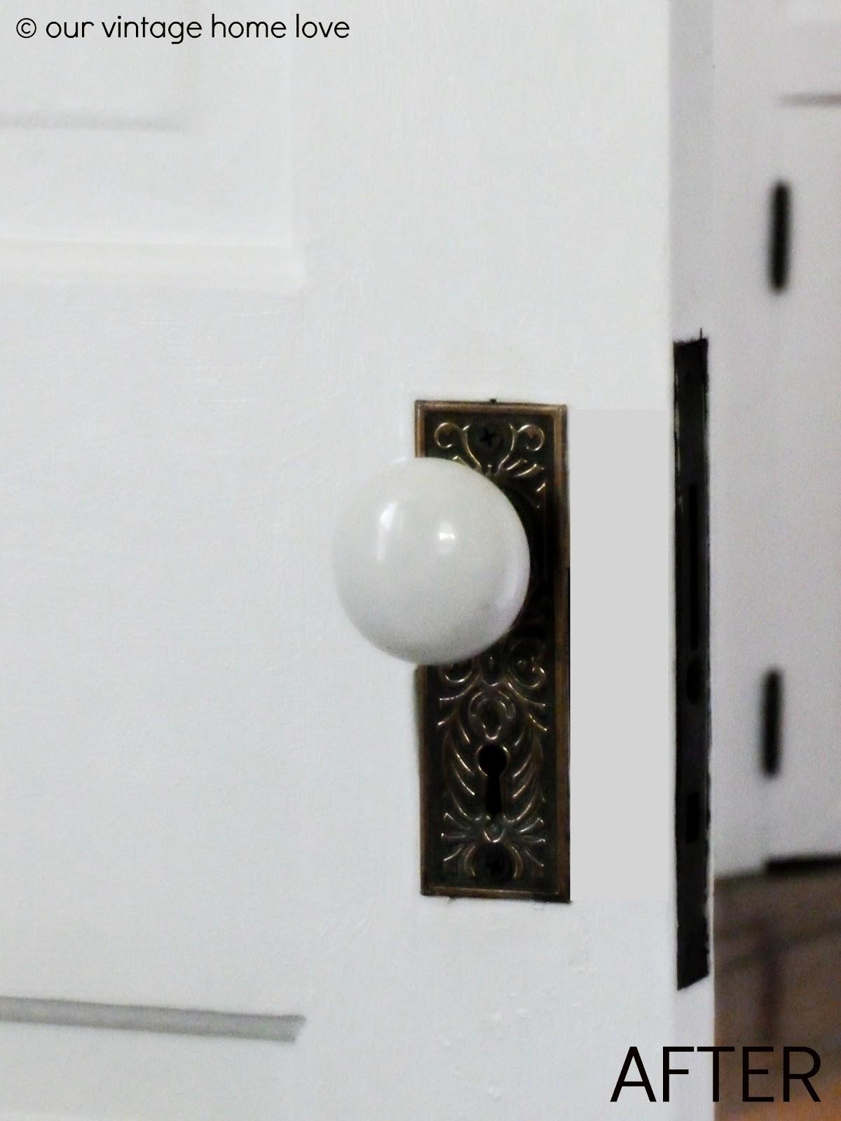 pocket door knob photo - 19