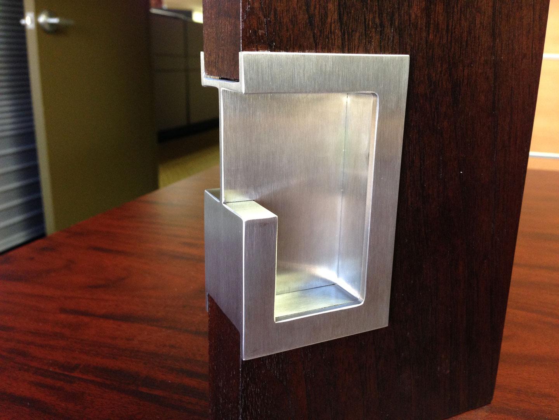 pocket door knob photo - 20