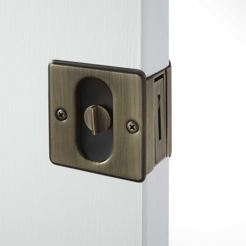 pocket door knobs photo - 17
