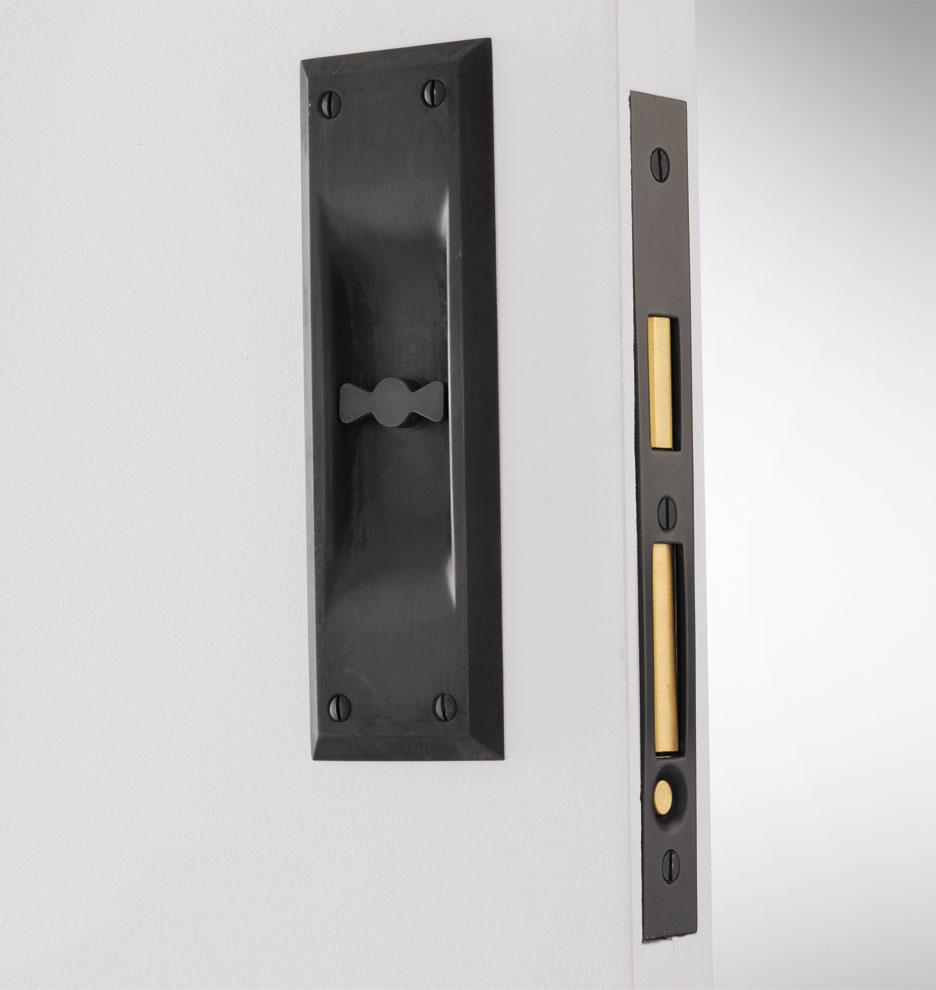 pocket door knobs photo - 9