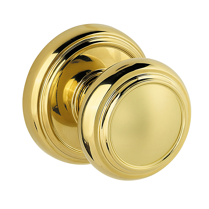 polished brass door knobs photo - 2