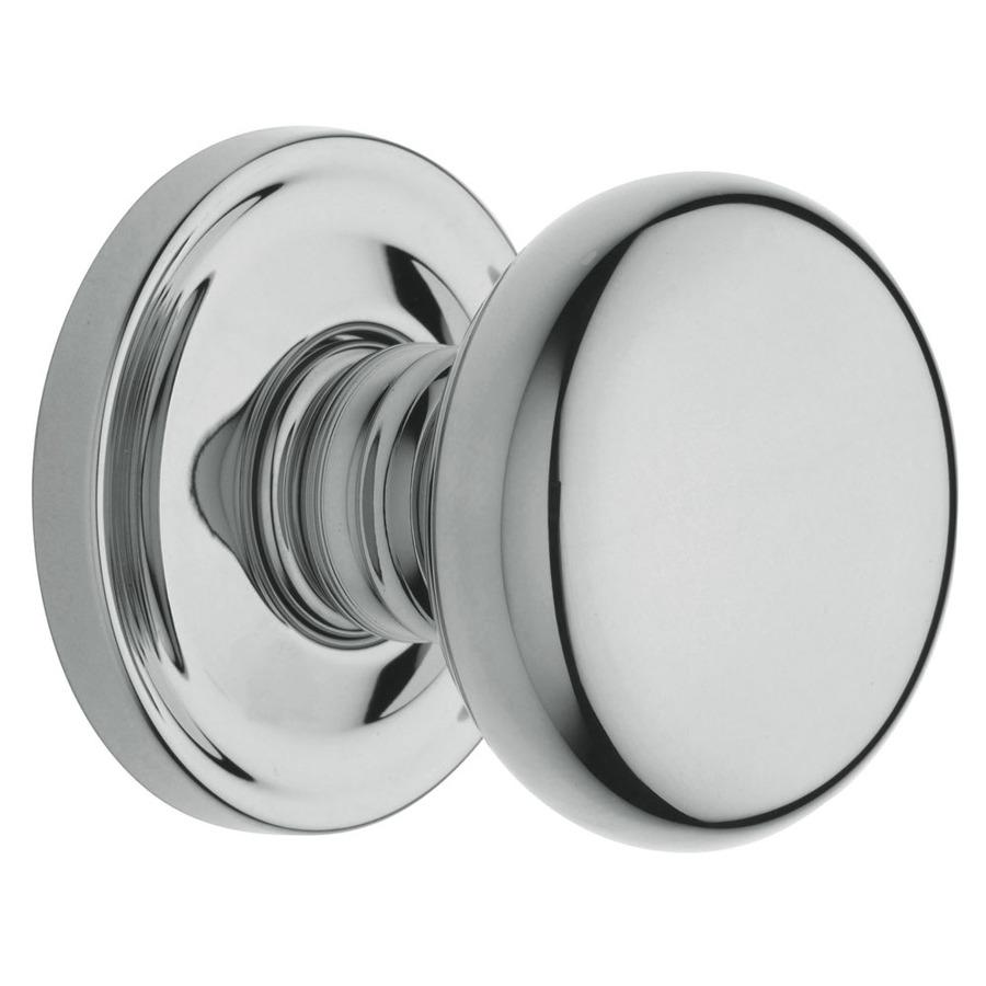 polished chrome door knob photo - 1