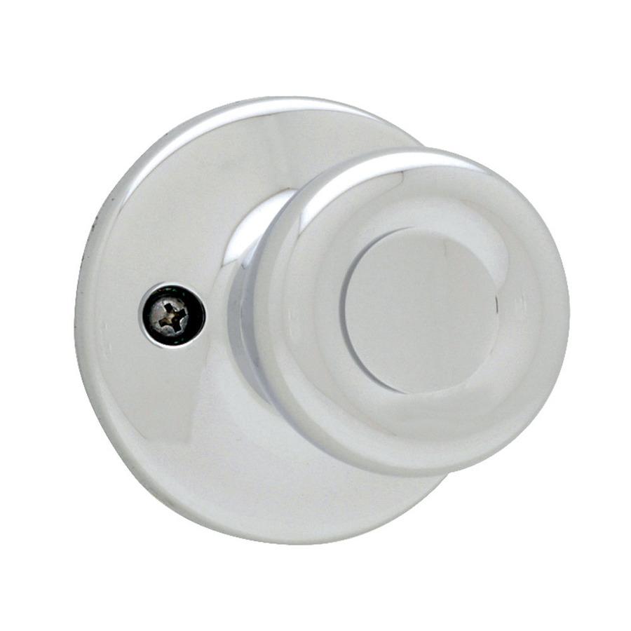 polished chrome door knob photo - 18