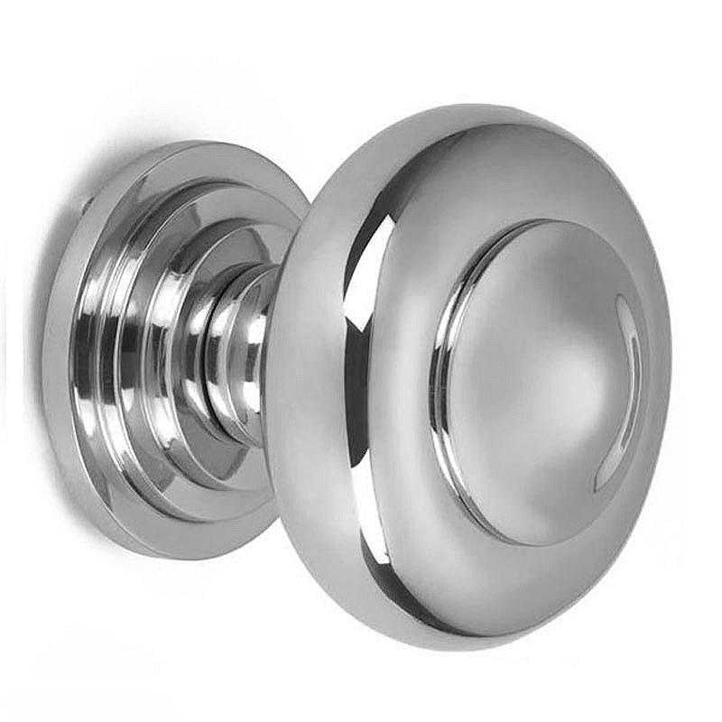 polished chrome door knob photo - 20