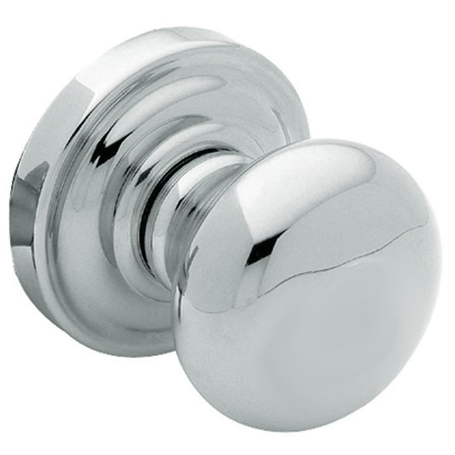 polished chrome door knob photo - 3
