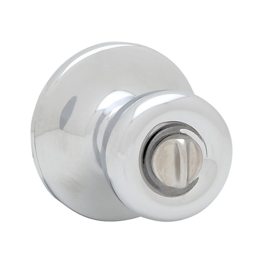 polished chrome door knob photo - 4