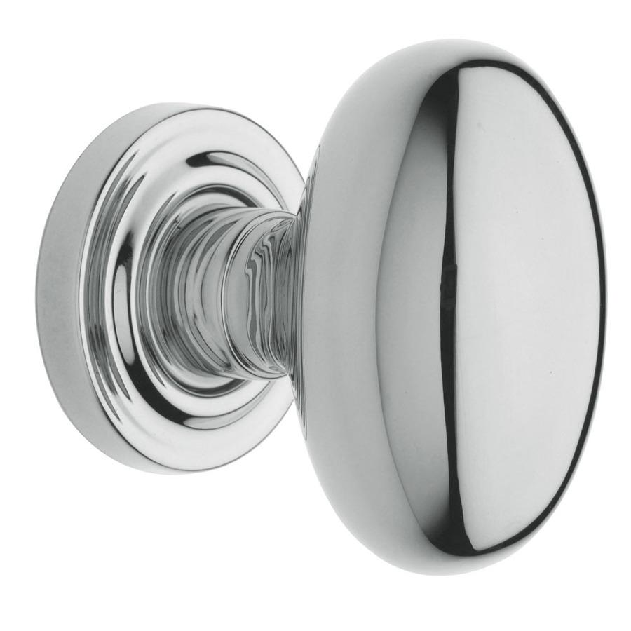 polished chrome door knob photo - 5