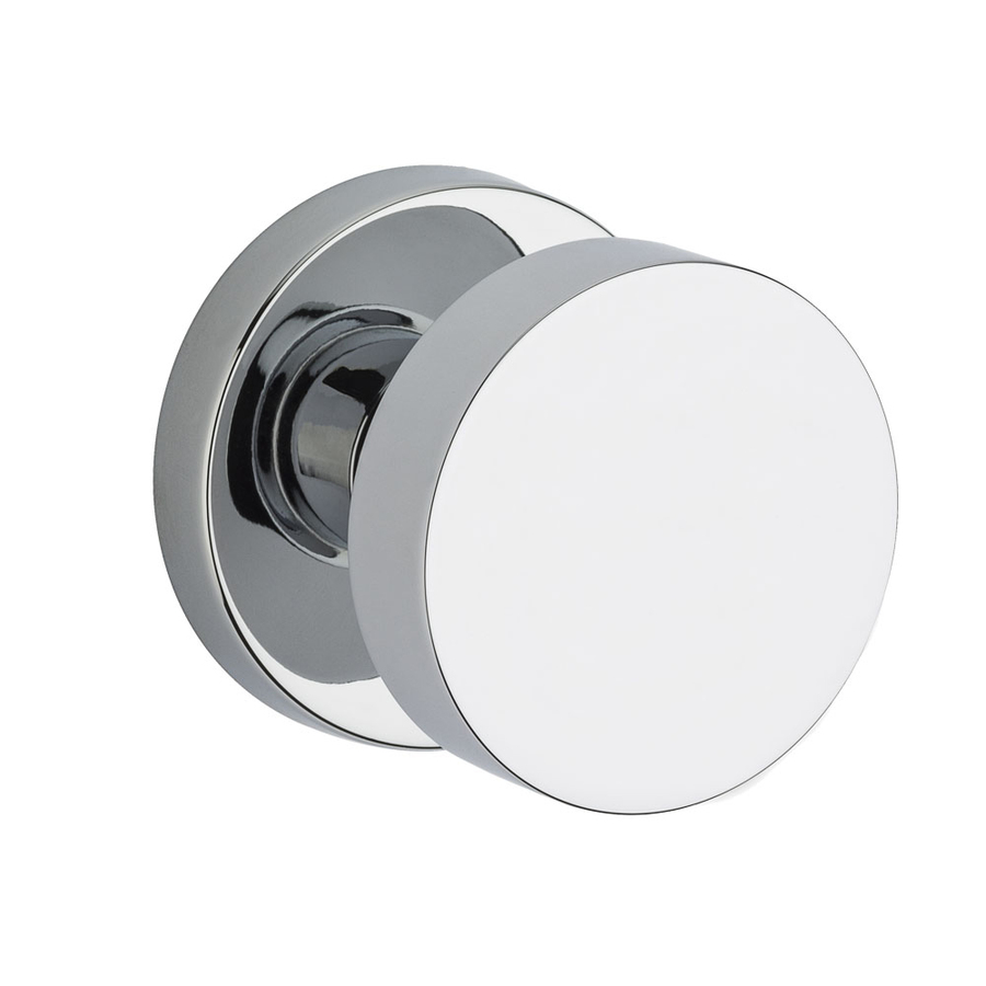 polished chrome door knob photo - 8