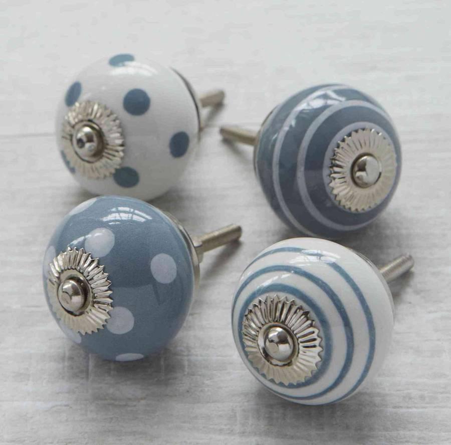 porcelain cupboard door knobs photo - 1