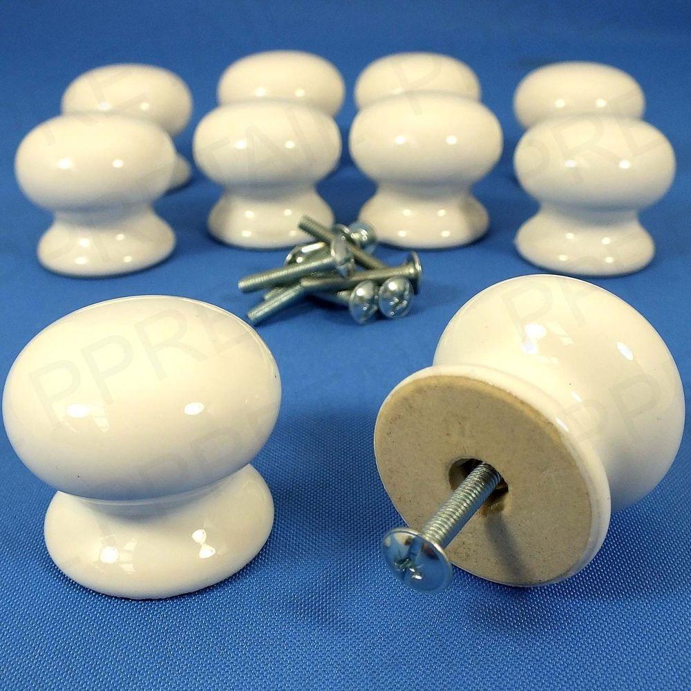 porcelain cupboard door knobs photo - 11