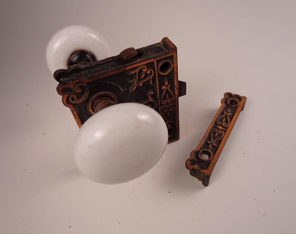 porcelain door knobs antique photo - 19