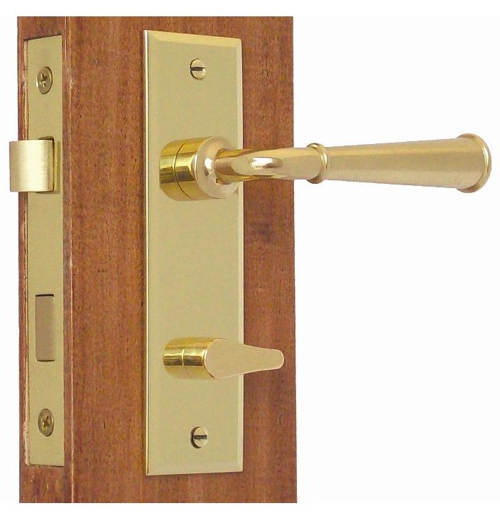 privacy door knob set photo - 7