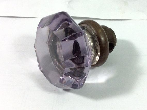 purple door knob photo - 13