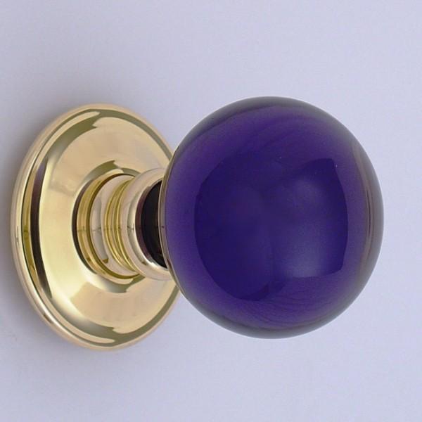 purple door knobs photo - 18
