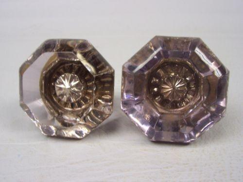 purple glass door knobs photo - 9