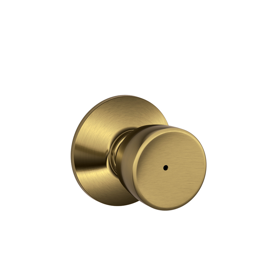 push button door knob photo - 2
