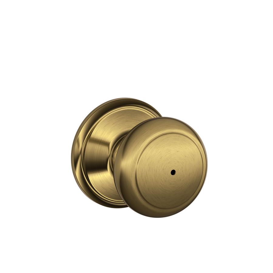 push button lock door knob photo - 1