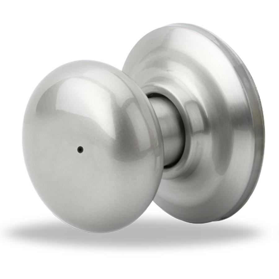 push button lock door knob photo - 17