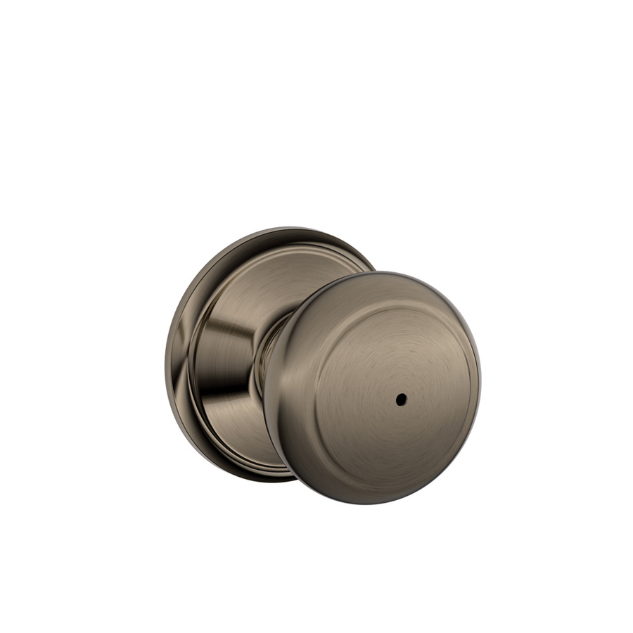 push button lock door knob photo - 3