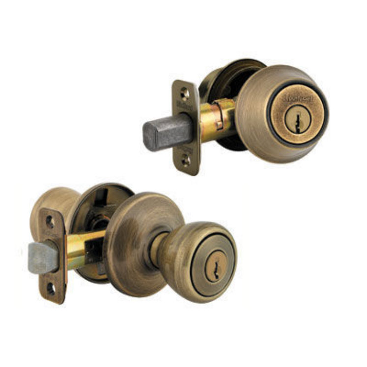 remove kwikset door knob photo - 17