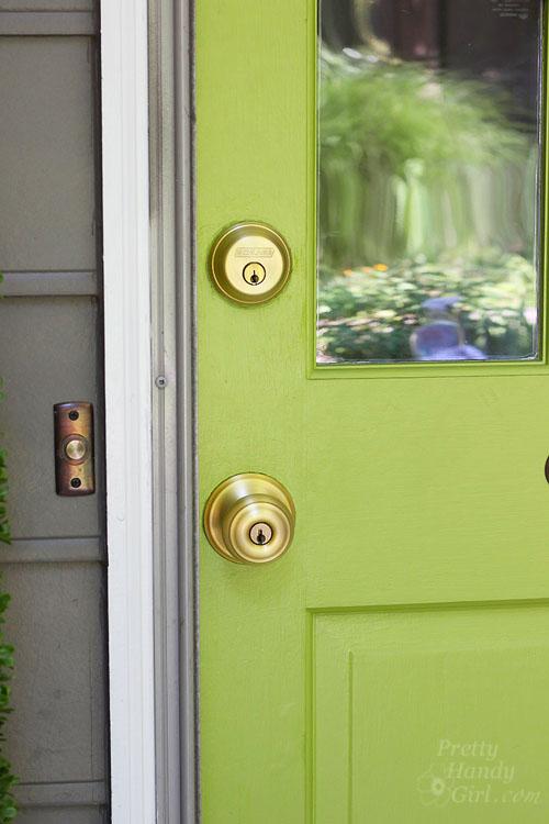 replace door knob with deadbolt photo - 18