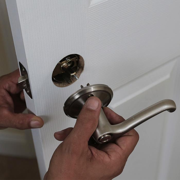 replace interior door knob photo - 2