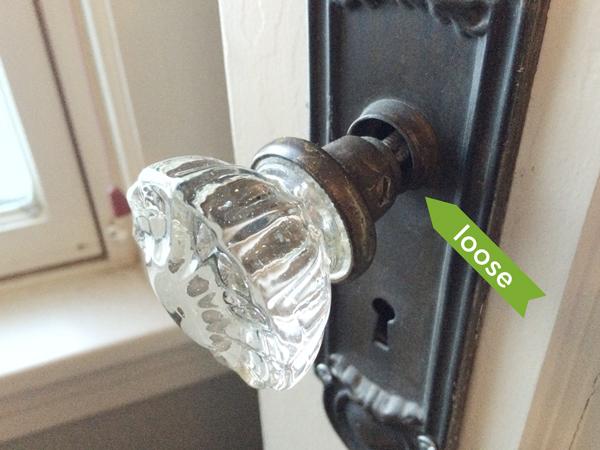 replace old door knob photo - 3