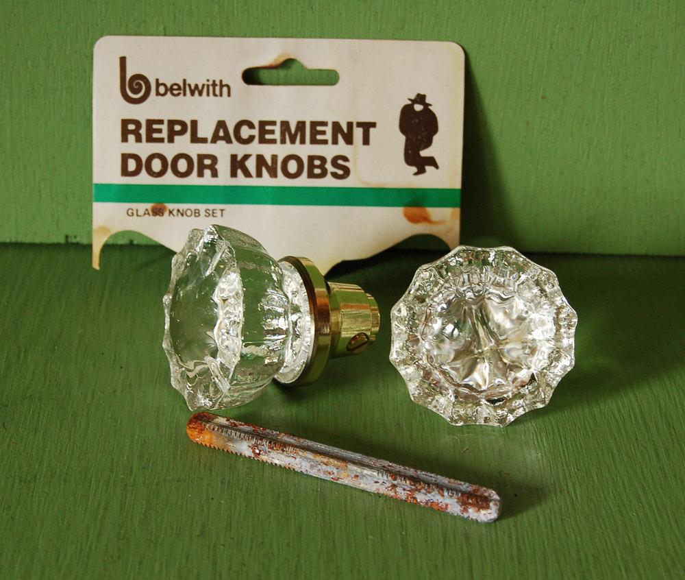 replacement glass door knobs photo - 3