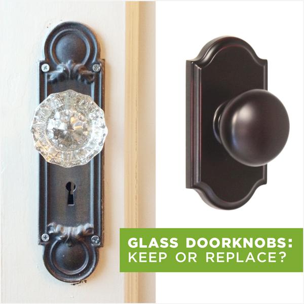 replacing old door knobs photo - 14