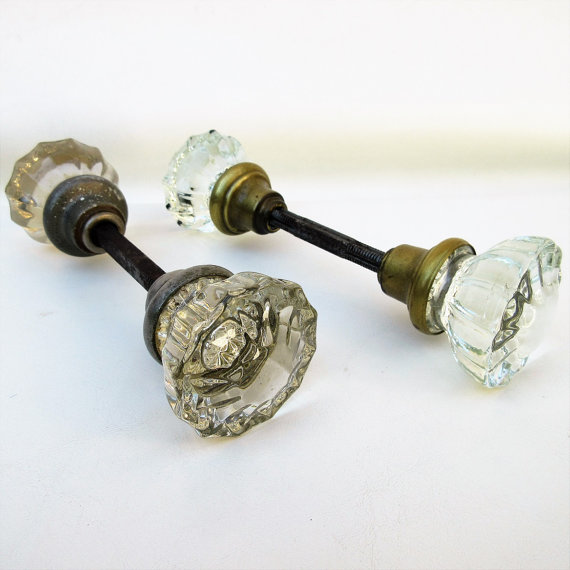 restoration hardware glass door knobs photo - 2