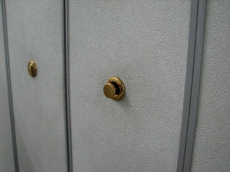 retracting door knob photo - 6