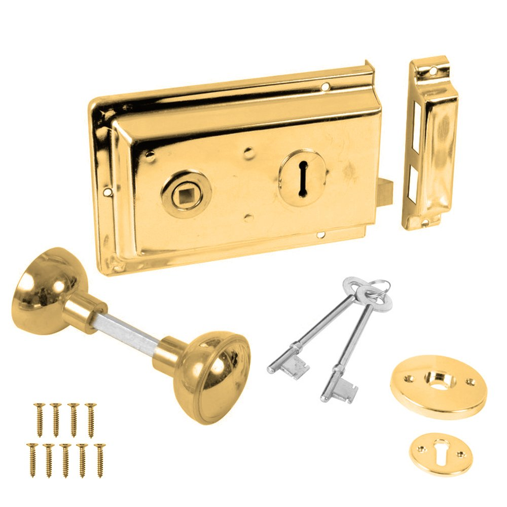 rim lock door knob photo - 13