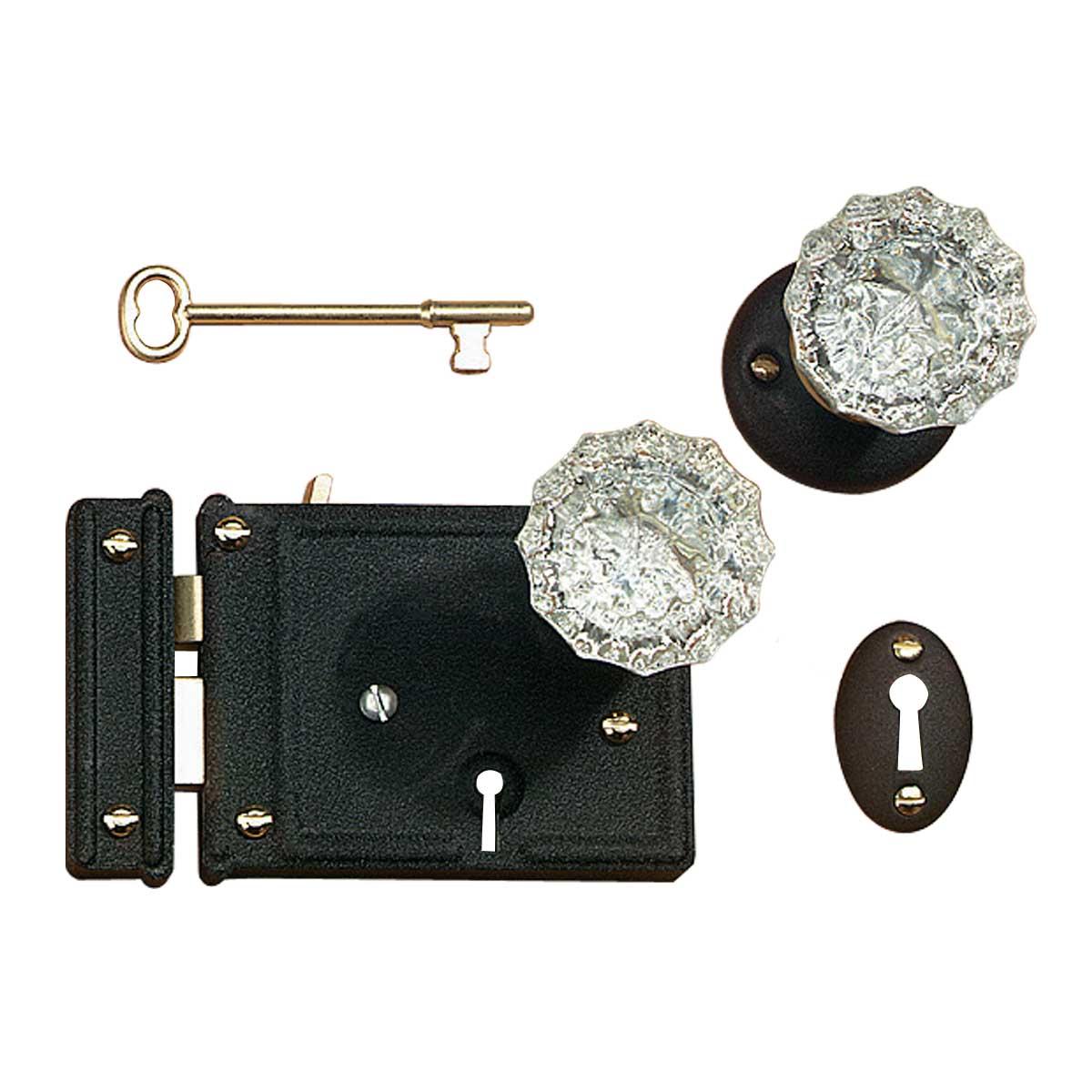 rim lock door knobs photo - 15