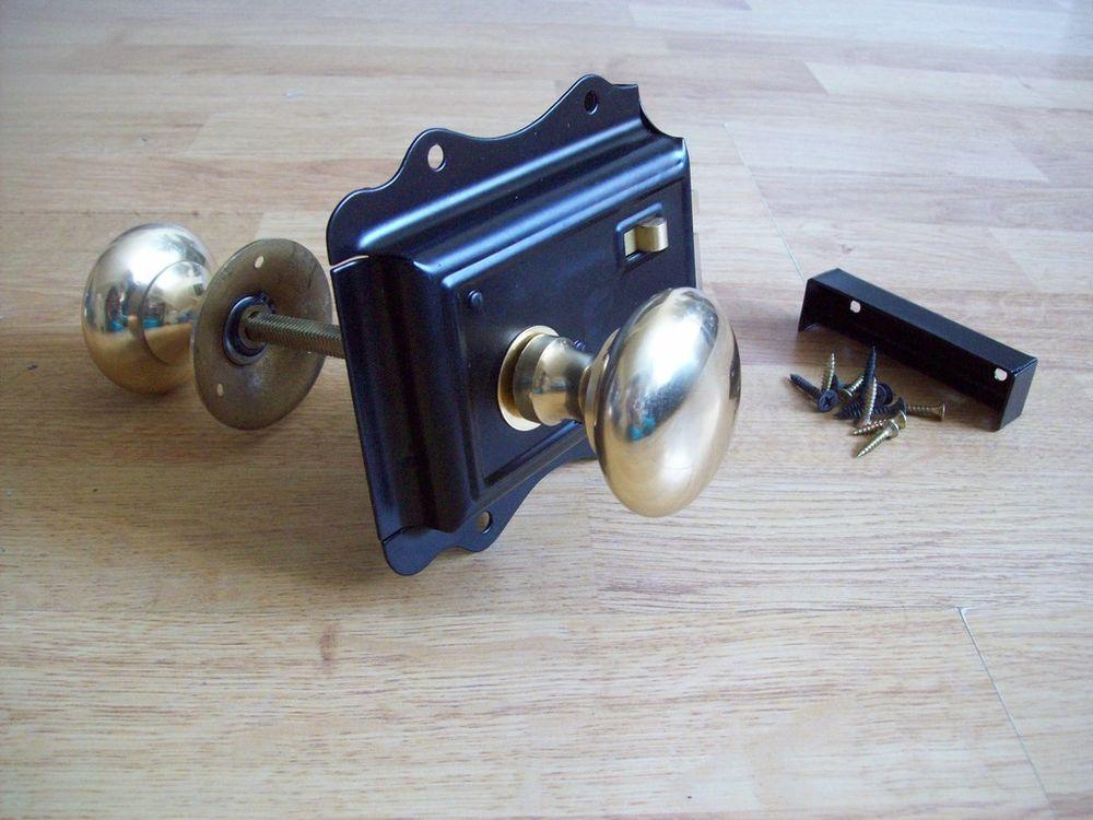rim lock door knobs photo - 7