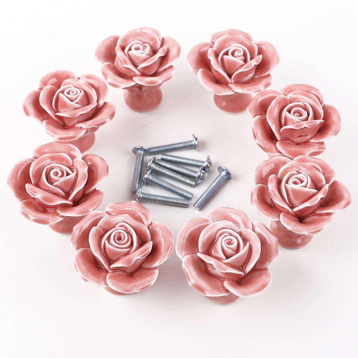 rose door knobs photo - 19