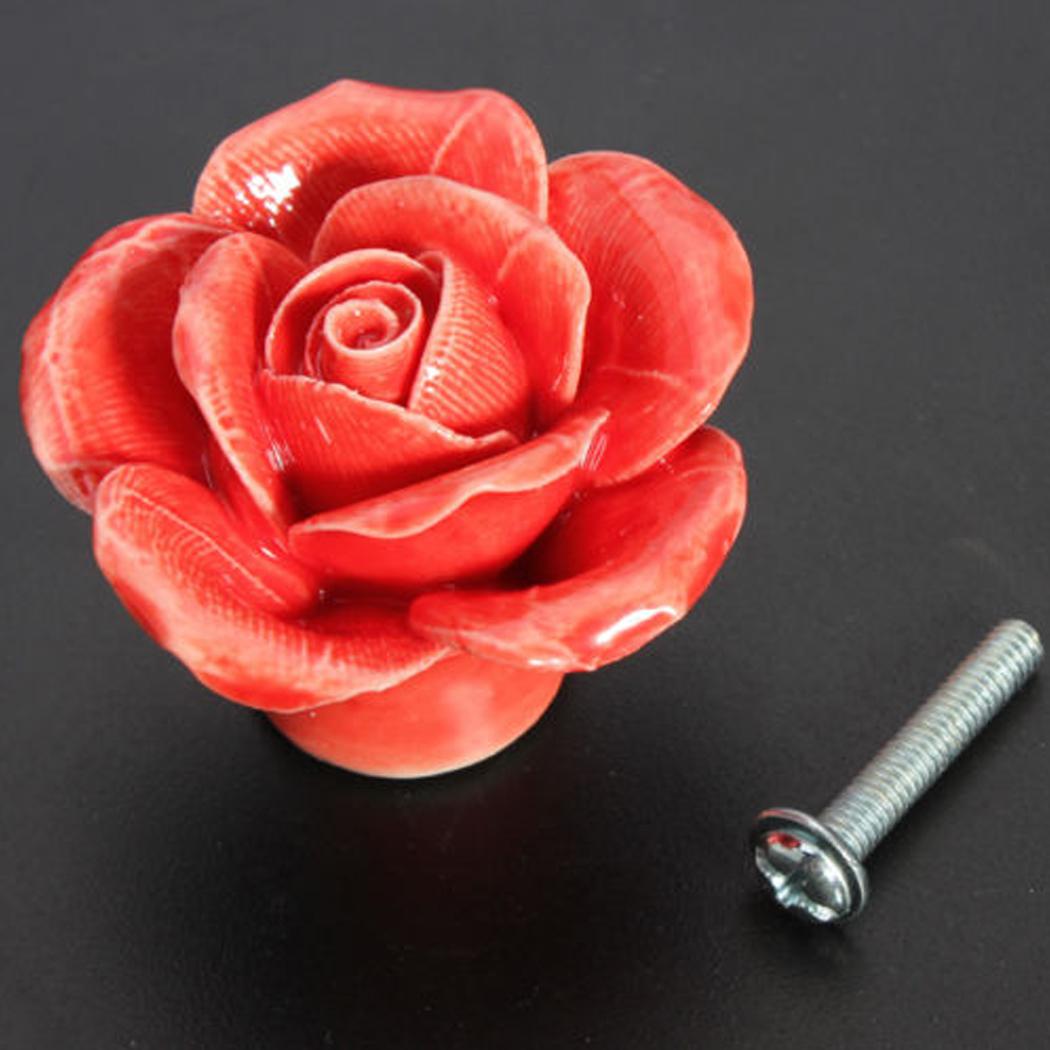 rose door knobs photo - 2