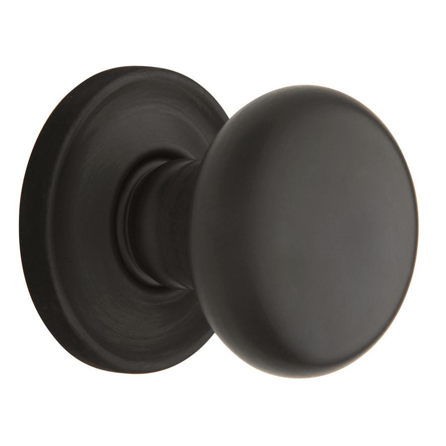 rubbed oil bronze door knobs photo - 1