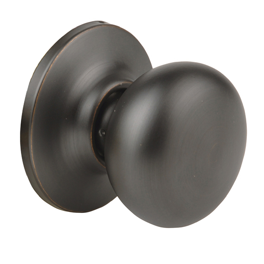 rubbed oil bronze door knobs photo - 11
