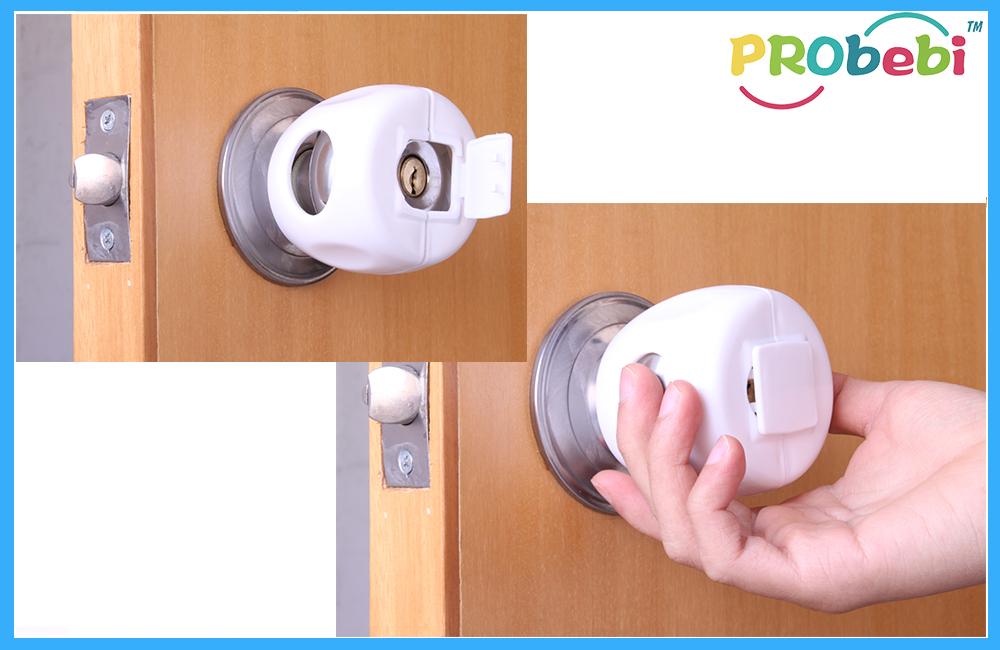 safety door knob photo - 15