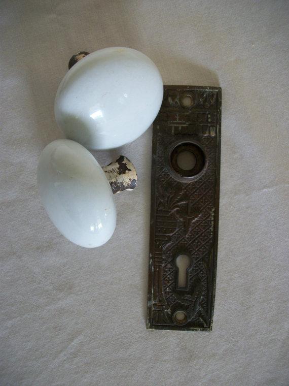 salvaged door knobs photo - 4